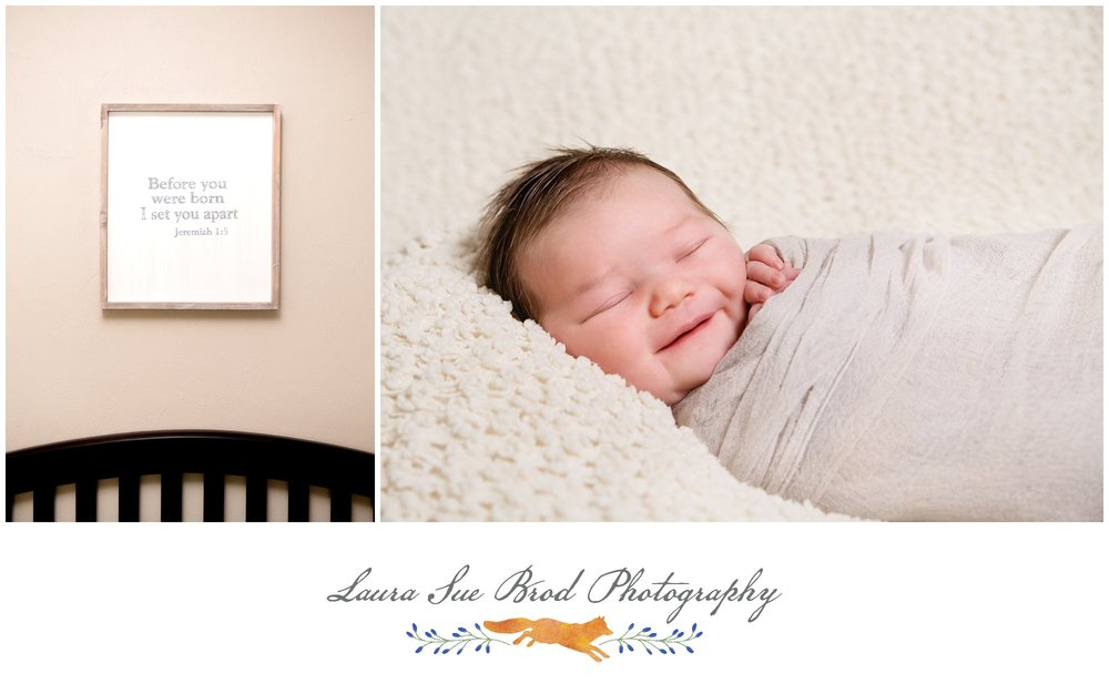 Newborn Session: The Hoag Family, Norfolk, VA     © 2017 Laura Sue Brod Photography  www.laurasuebrod.com