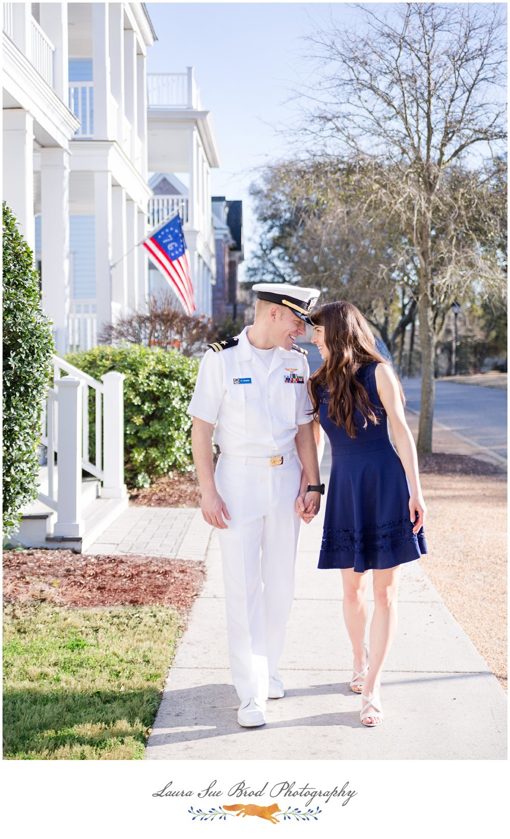 Military engagement session in Virginia Beach. © 2018 Laura Sue Brod Photography www.laurasuebrod.com