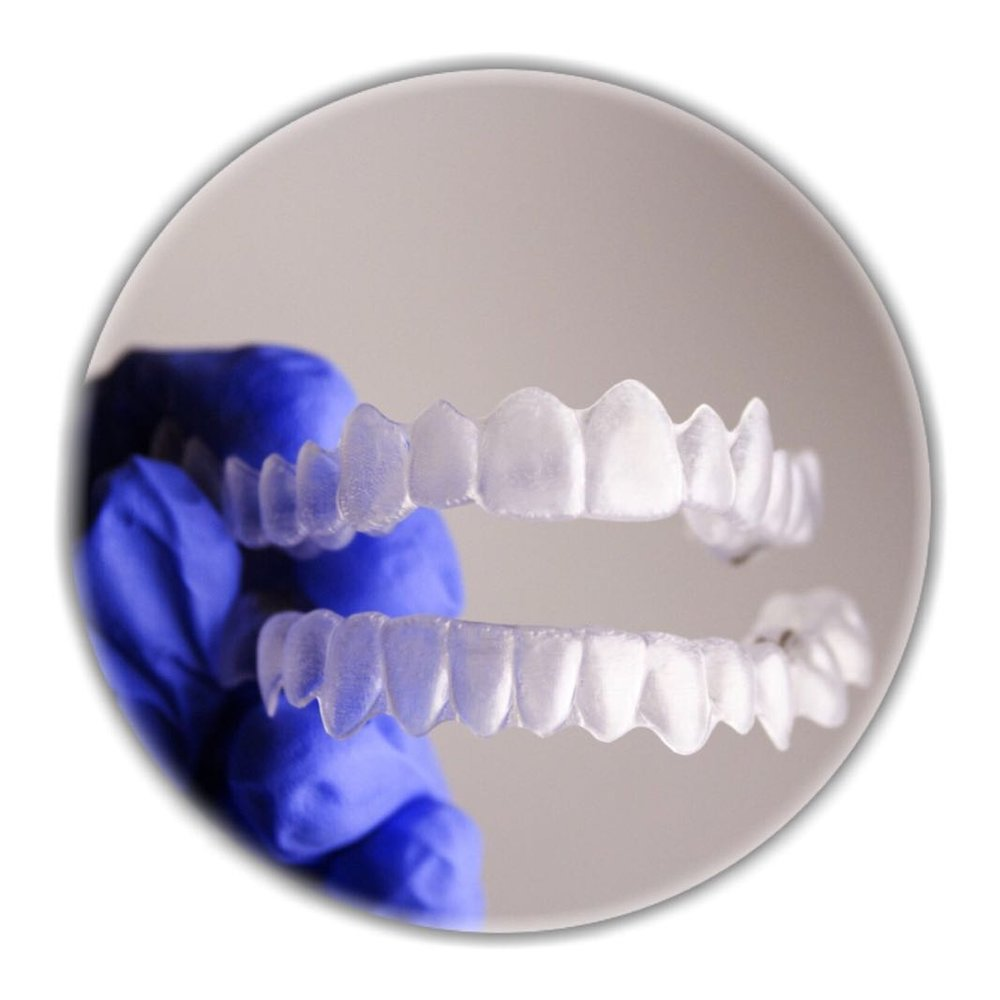 3-It protects your teeth in both upper and lower arches from trimming down each other during the treatment. -