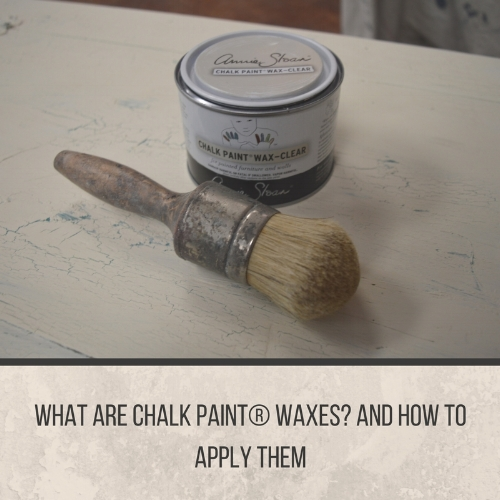 What is Chalk Paint® Wax and How-To's
