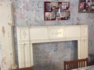 Updated Antique Mantle
