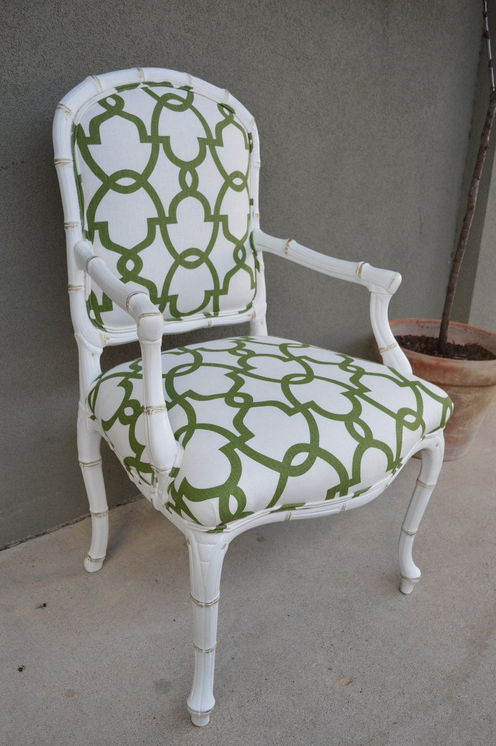 Bamboo Regency Chair