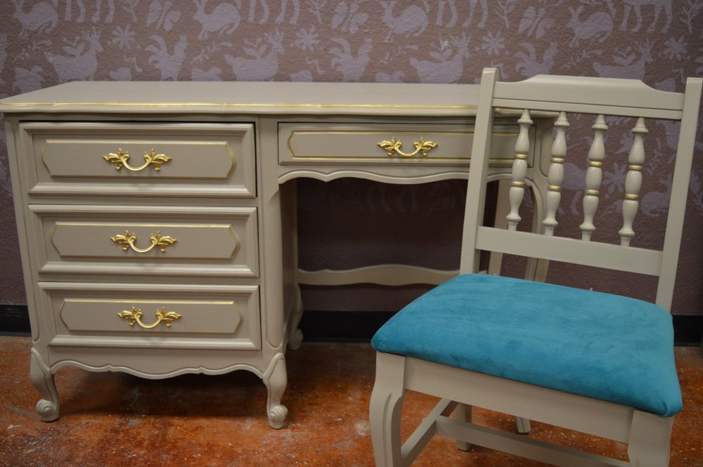 Hollywood Regency Bedroom Set