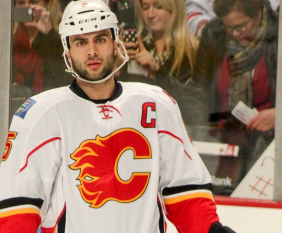 Mark Giordano plans to set the league ablaze on Saturday.  Source