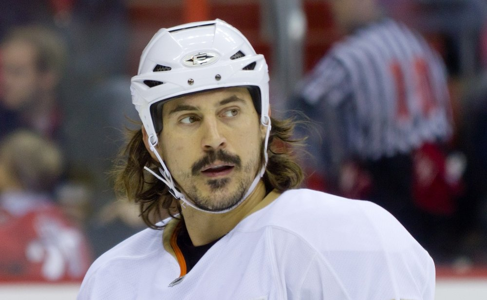 Former NHL enforcer George Parros will be back to his bruising best this October Source
