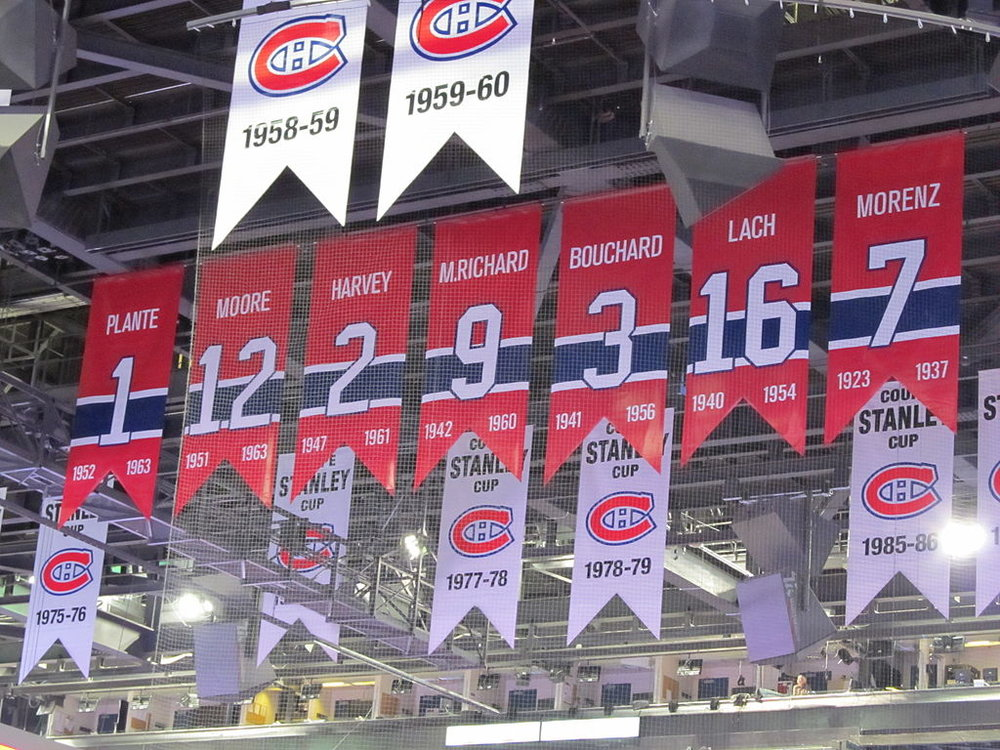 The Bell Centre rafters are about to get a whole lot busier over the next few seasons. Source