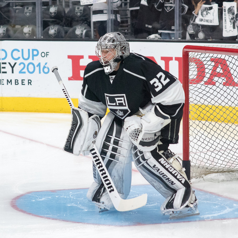 Jonathan Quick is hoping come back a new man in February. Source