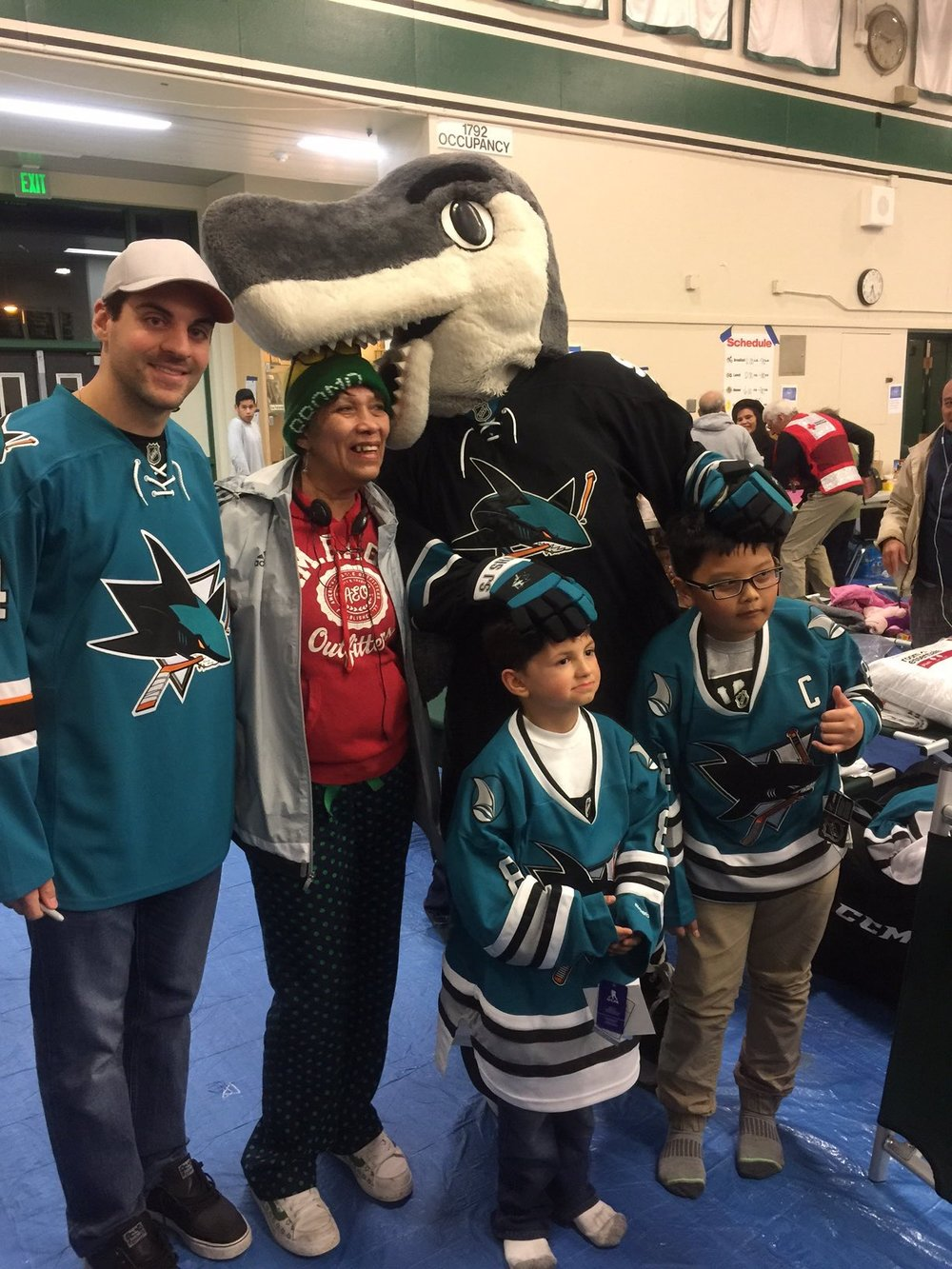 Image courtesy of San Jose Sharks  twitter