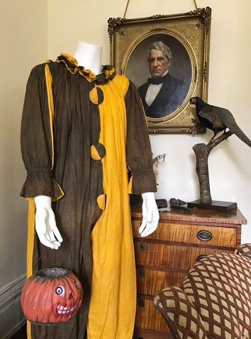 Vintage Halloween costumes and jack-0-lanterns attracted record crowds at the museum during October.