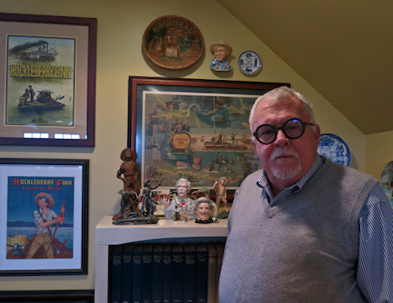RHM board member and professor emeritus at UCLA Tom Wortham, will open the 2017 season with his personal collection of the Adventures of Huckleberry Finn memorabilia.