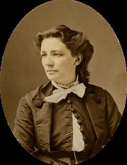 Victoria Claflin Woodhull, circa 1870