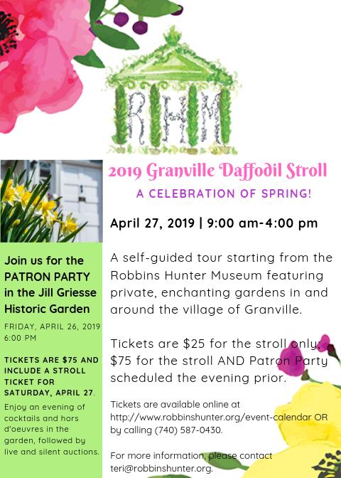 2019 Granville Daffodil Stroll Flyer (1).png