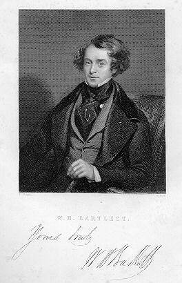 W. H. Bartlett self portrait 1836