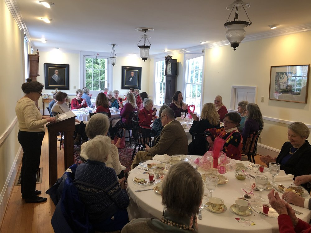 A luncheon honoring Flo was held on February 14, 2019, at the Robbins Hunter Museum.