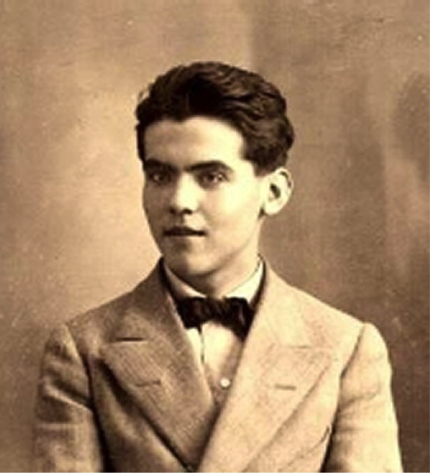 (Photograph of Lorca, 1914.)