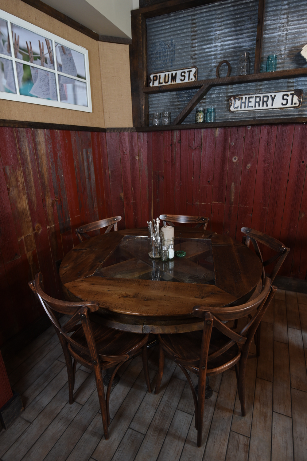 Restaurant Barn Wood Table