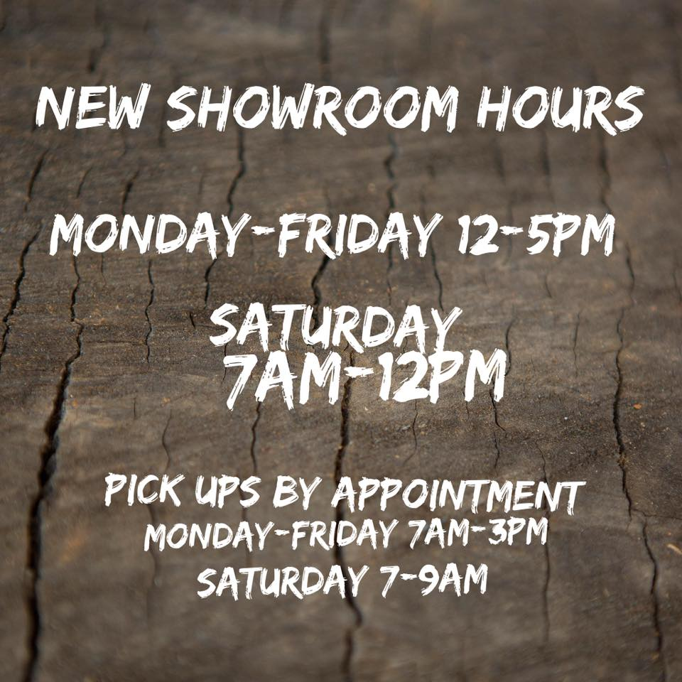 New Real Antique Wood Showroom Hours