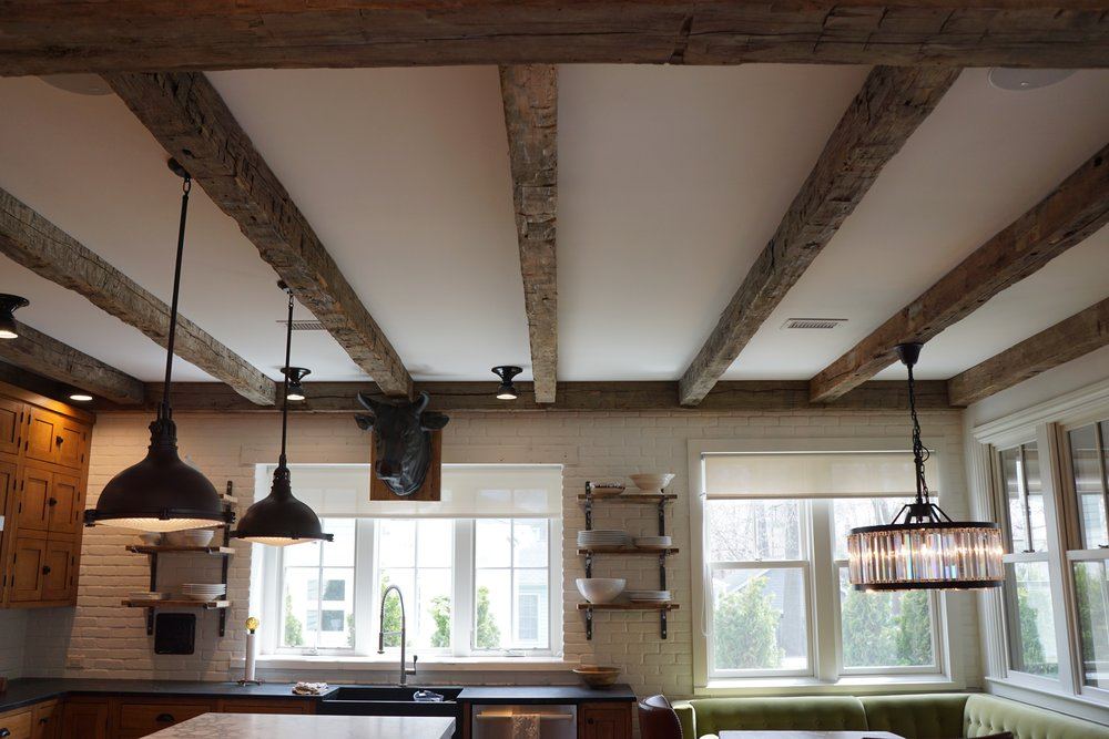 RECLAIMED BEAMS -