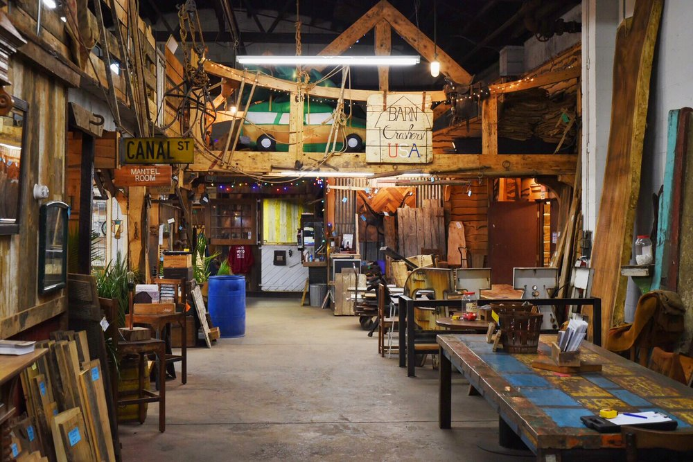Real Antique Wood Showroom