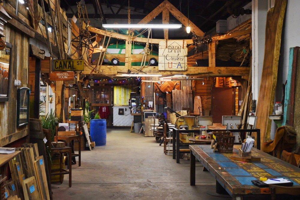 Real Antique Wood Showroom