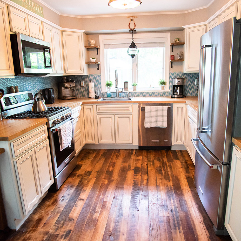 Harvest Reclaimed Wood Flooring