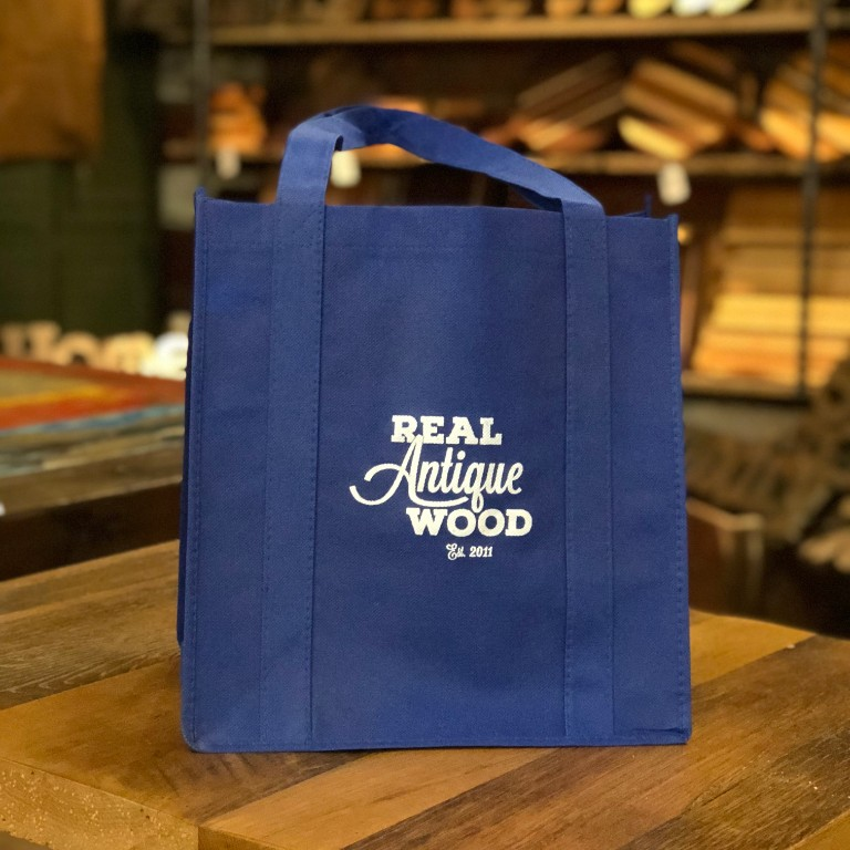 Dec 15 - Everything you can fit in one of our custom blue tote bags is 25% off, but don't try and stick a mantel in there. We will point and laugh... and maybe take a photo or two. ONE DAY ONLY!