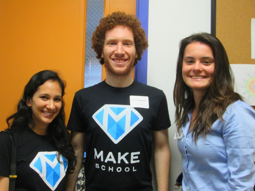 MakeSchool Co-Founder: Jeremy Rossmann, Keynote Speaker, Workshop Leader