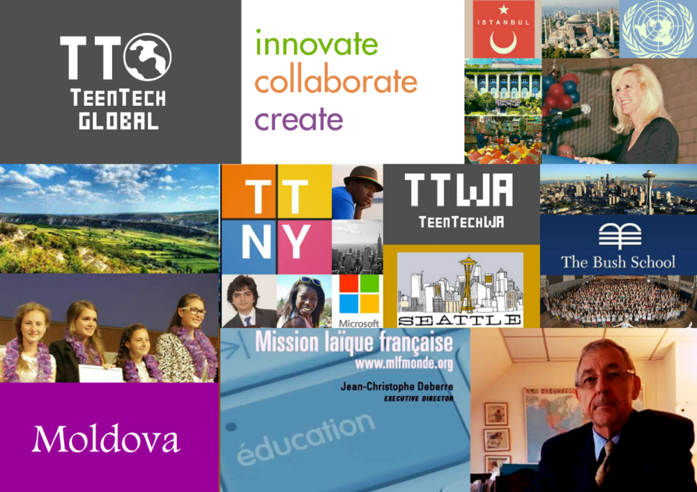 "VIDEO: Inaugural TeenTechGLOBAL Youth Summit ""Int'l Welcome: France, Turkey, Moldova"""""