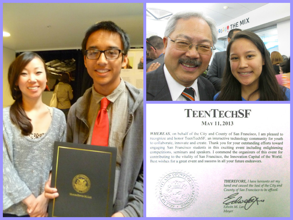 Presidential Volunteer Service Award & Commendations from Mayor Lee and the San Francisco Office of Civic Innovation