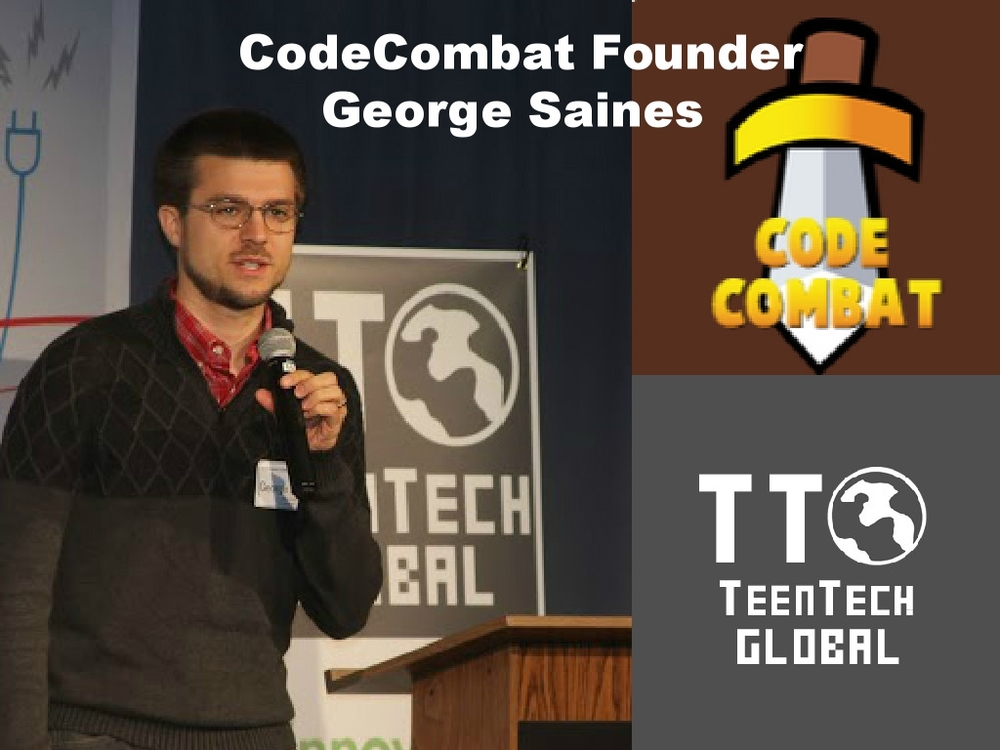 "VIDEO: TeenTechGLOBAL Keynote: CodeCombat Founder/CEO ""Learn a Little Programming"""