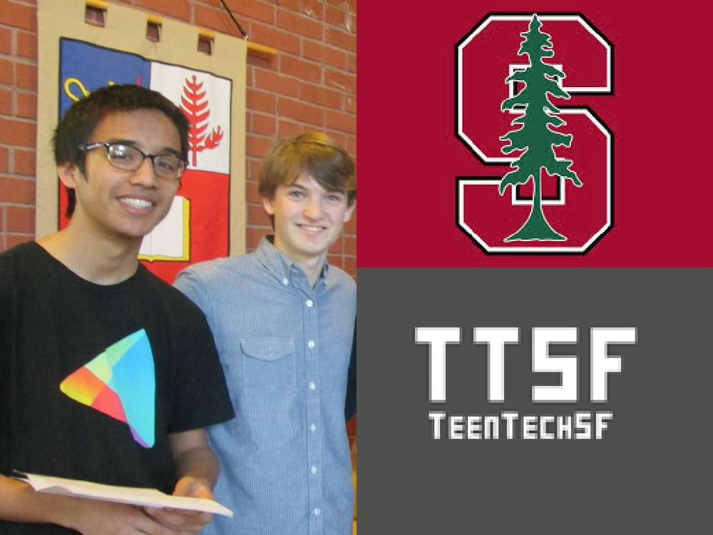 Stanford Student Leader: Nick Troccoli, TeenTechSF@Stanford Organizer, Workshop Leader
