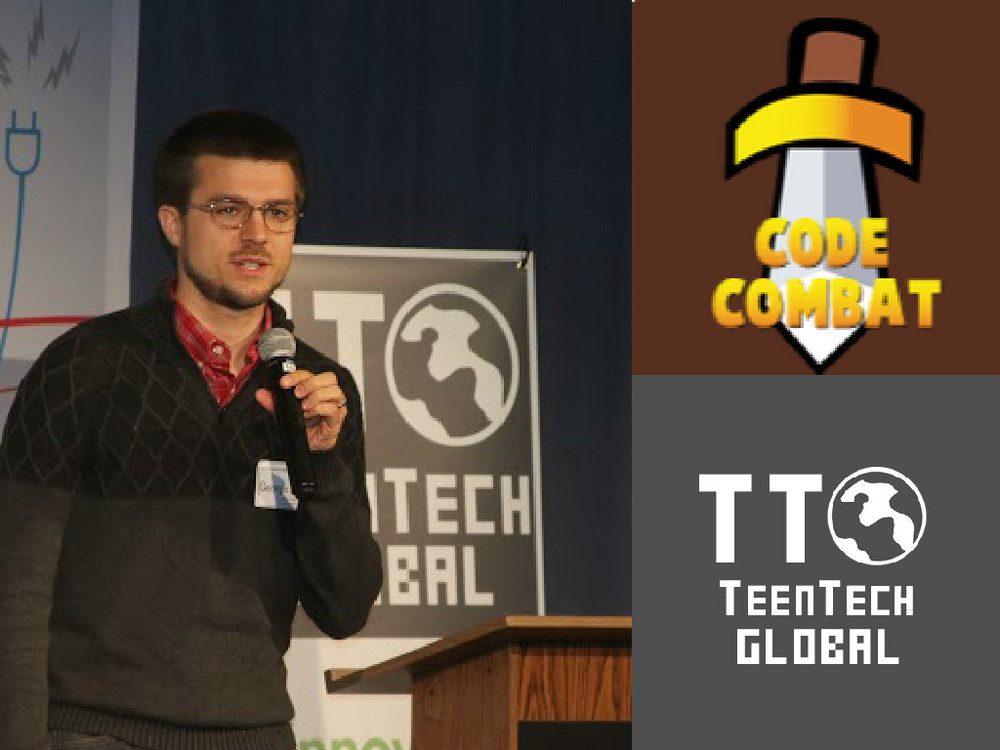 CodeCombat, Skritter Founder/CEO: George Saines, Keynote Speaker