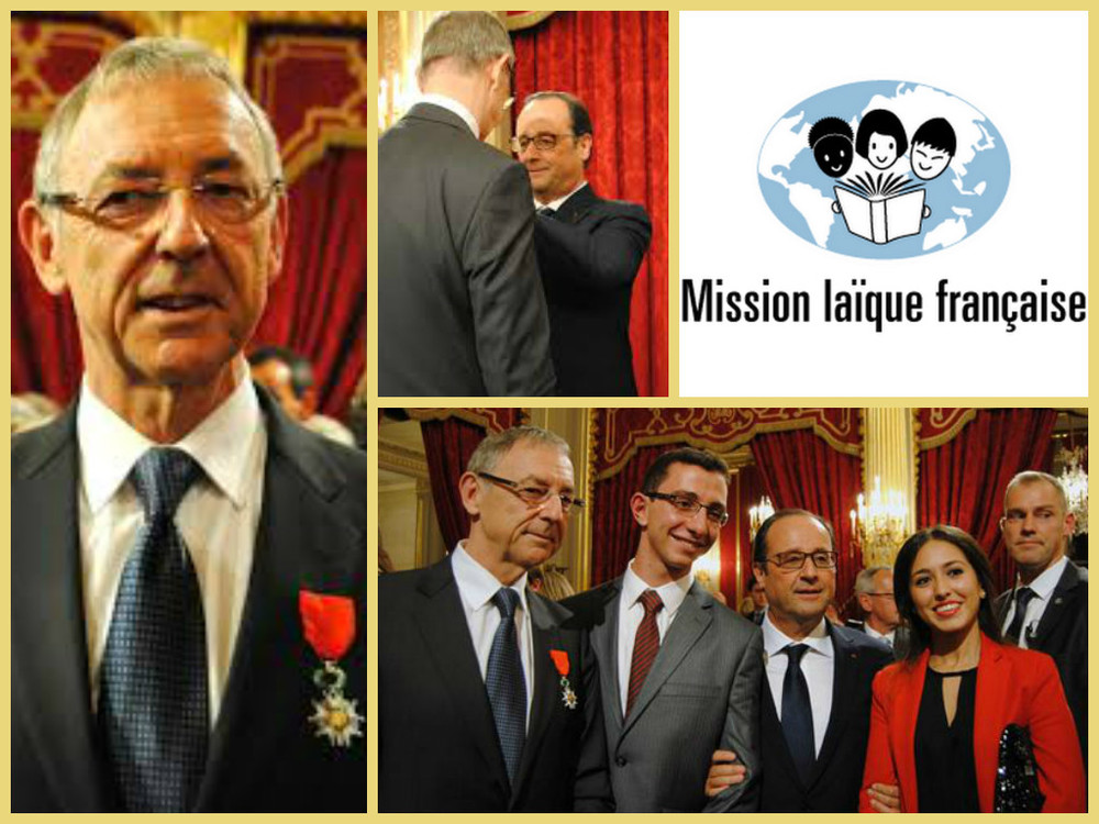 VIDEO Message to TTSF from Mission Laïque Française Exec Dir: Jean-Christophe Deberre, Chevalier de la Légion d'Honneur, Founding Global Partner