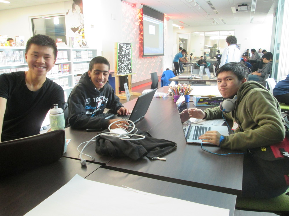 Student hackers take over The Mix for two days at the TeenTechSF Civic Hackathon