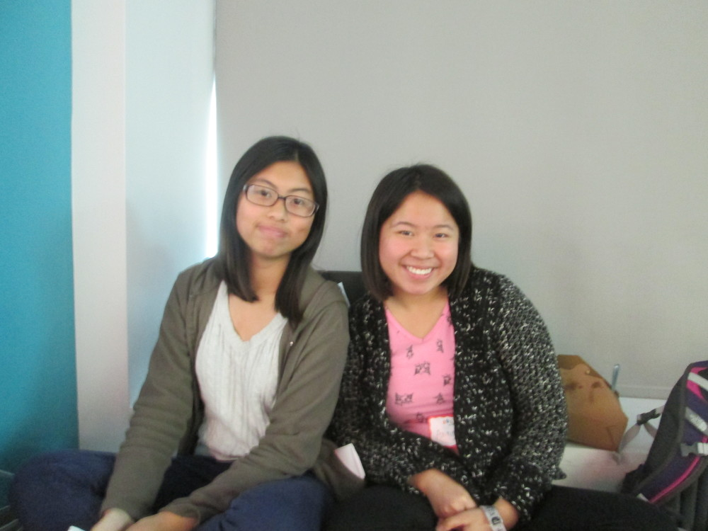 Civic problem: Homelessness; Tech solution by SF Youth Commission Leaders Erica Kong and Anna He