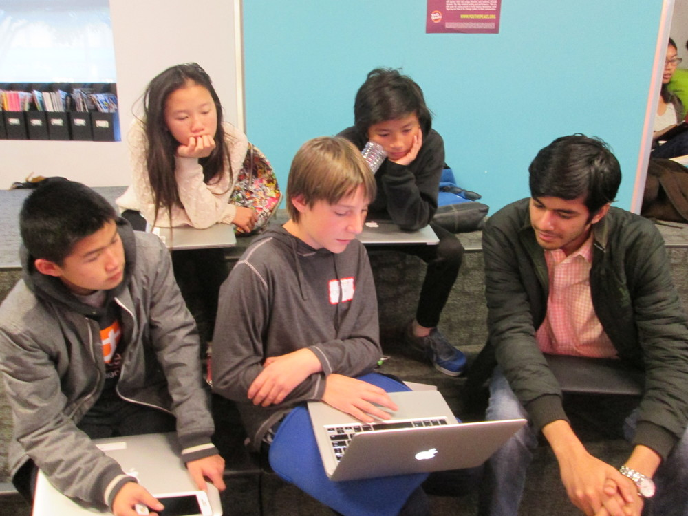 Solving childhood obesity one school lunch at a time: First time MS hackers work with UC Berkeley mentor Yash Mehta