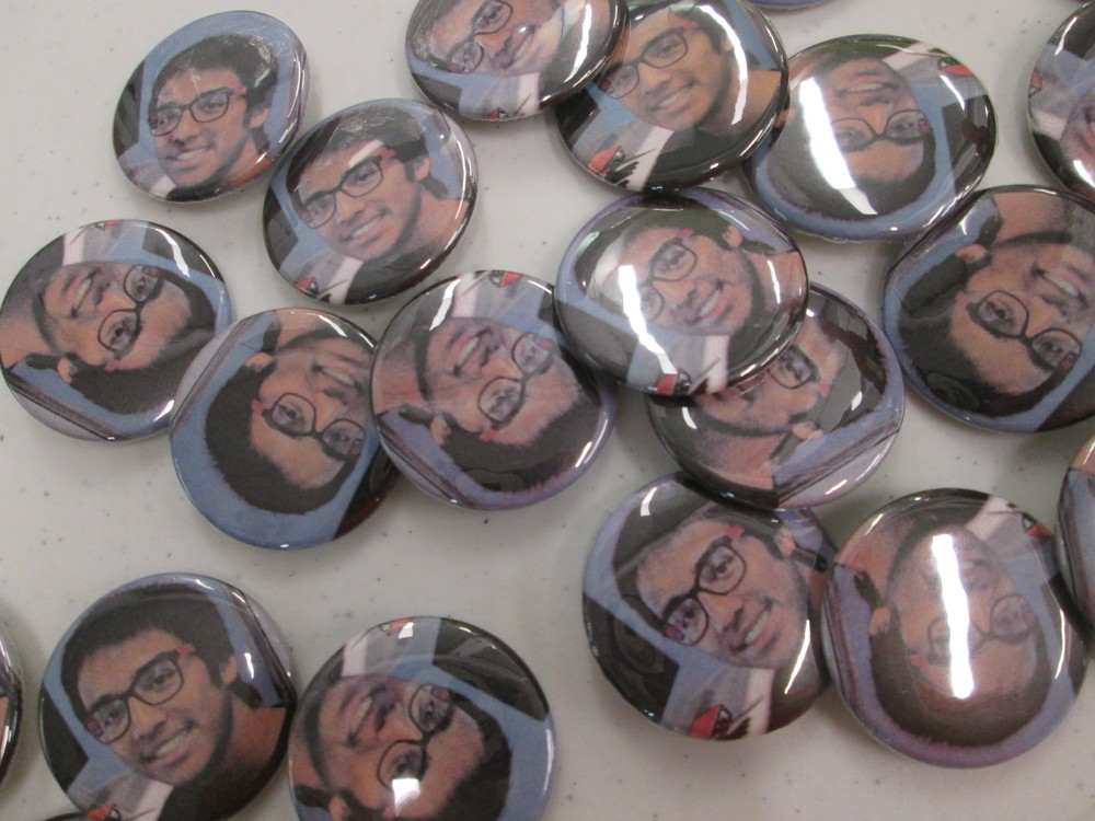Which SFPL BAY leader pranked Marc by making all these buttons?