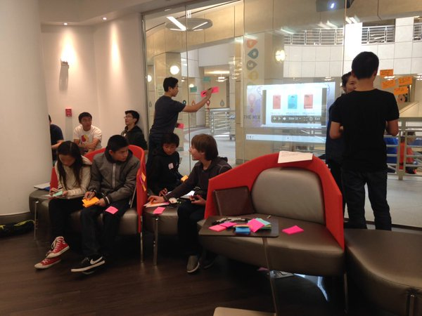 "TeenTechSF Civic Hack Workshop ""Learn to think like an IDEO Designer"""