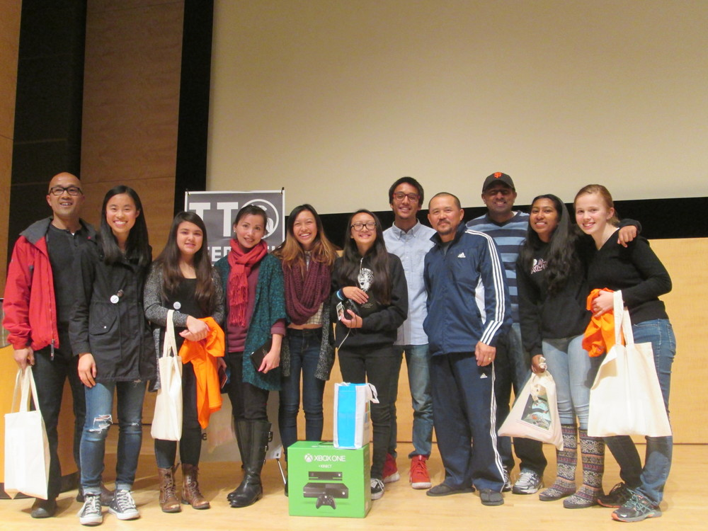 Congratulations to the top team, Project EduVoice, at the TeenTechSF Civic Hackathon