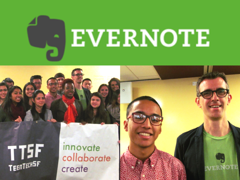 Evernote CTO Dave Engberg, Keynote at the TeenTechSF GLOBAL Youth Summit