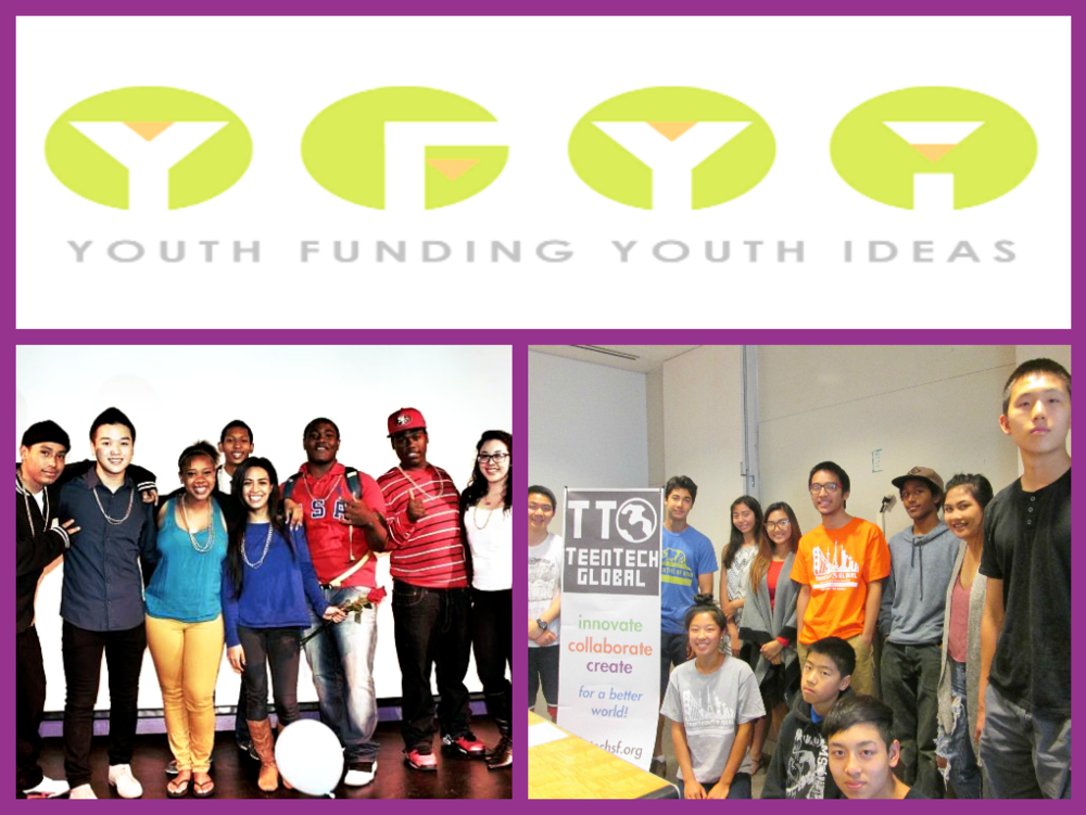 Youth Funding Youth Ideas & TeenTechSF Leadership Teams