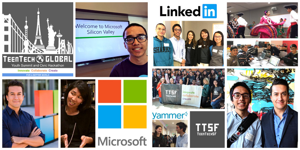 GYS 2017 Microsoft LinkedIn Yammer Raices de Mexico TTSF Collage.jpg