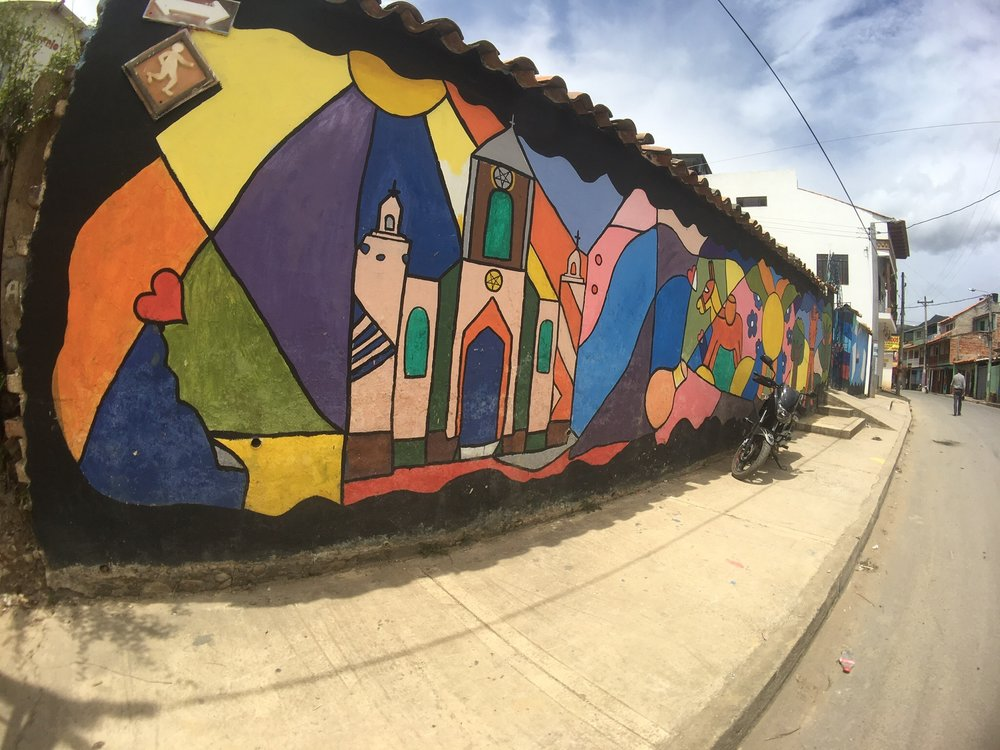 Raquira Graffiti