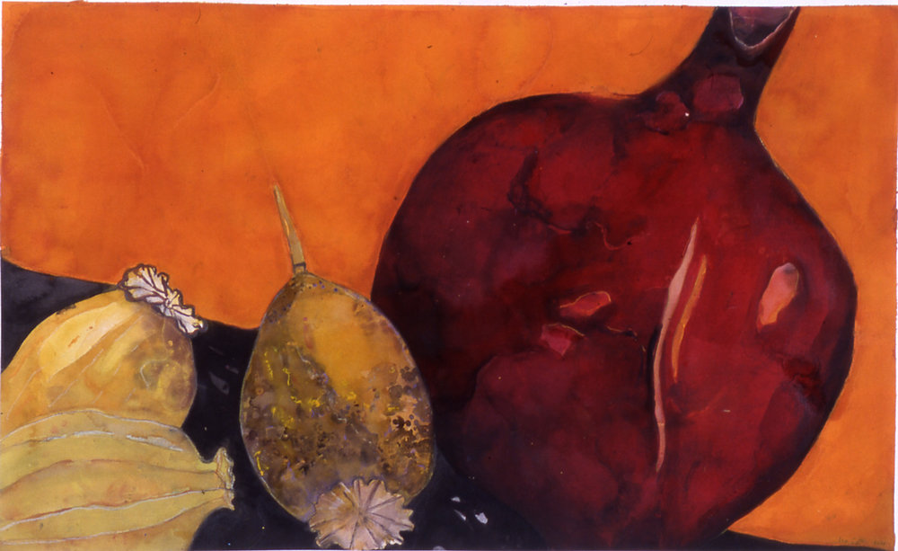 Pomegranate with Poppies.jpg