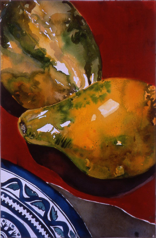 Still Life with Papayas .jpg