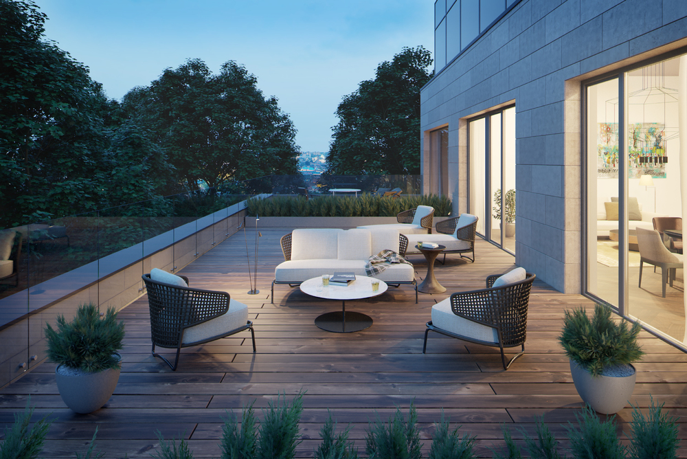 terrace visualisation