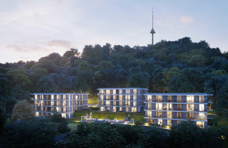 3d Architekturvisualisierung woods housing studio 3d architects