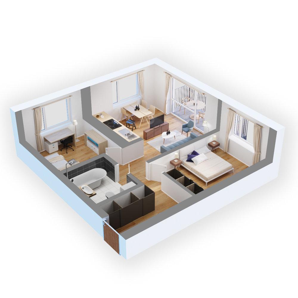 standartinis - trimitų namai