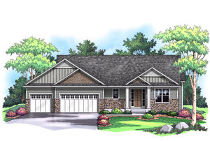 LAKEVIEW   3,460 Finished Sq Ft 3 Bedroom 3 Baths