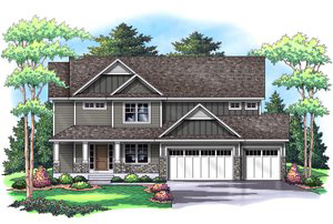 B    ROOKSIDE   2,665 Finished Sq Ft 4 Bedroom 3.5 Baths
